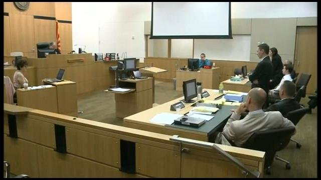  CBS 5 / Closing arguments wrapped up Wednesday afternoon.