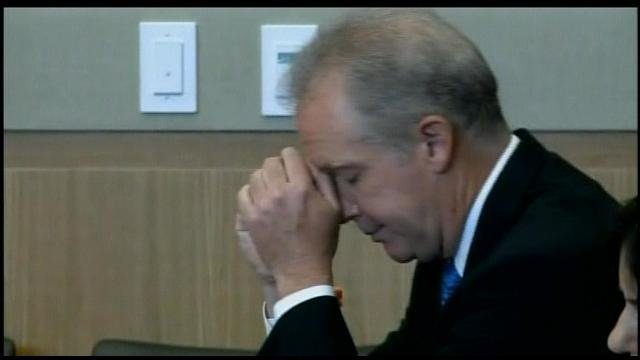 © CBS 5 / Michael Marin in the courtroom Thursday afternoon as the verdict was read.