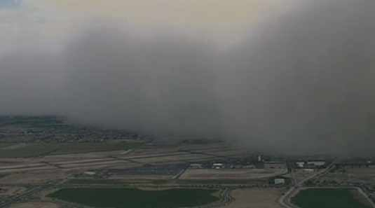 Storm swallows Chandler airport