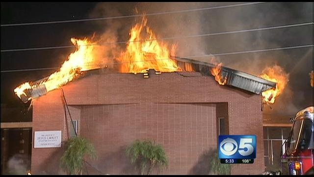 Tolleson LDS fire