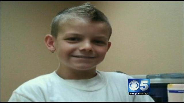 Aaron Arnold, 11, victim of hit-and-run