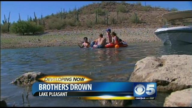 Brothers who drowned at lake pleasant id 39 d cbs46 news for Lake pleasant fishing report
