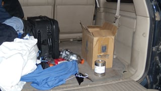 Canister discovered in cargo area
