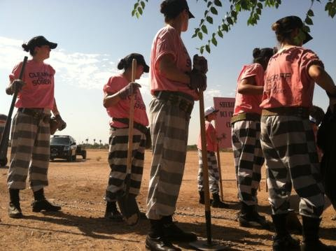 MCSO's female chain gang