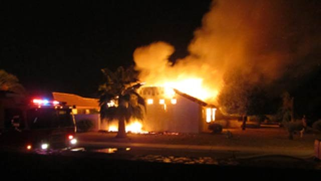 Sun CIty West house fire
