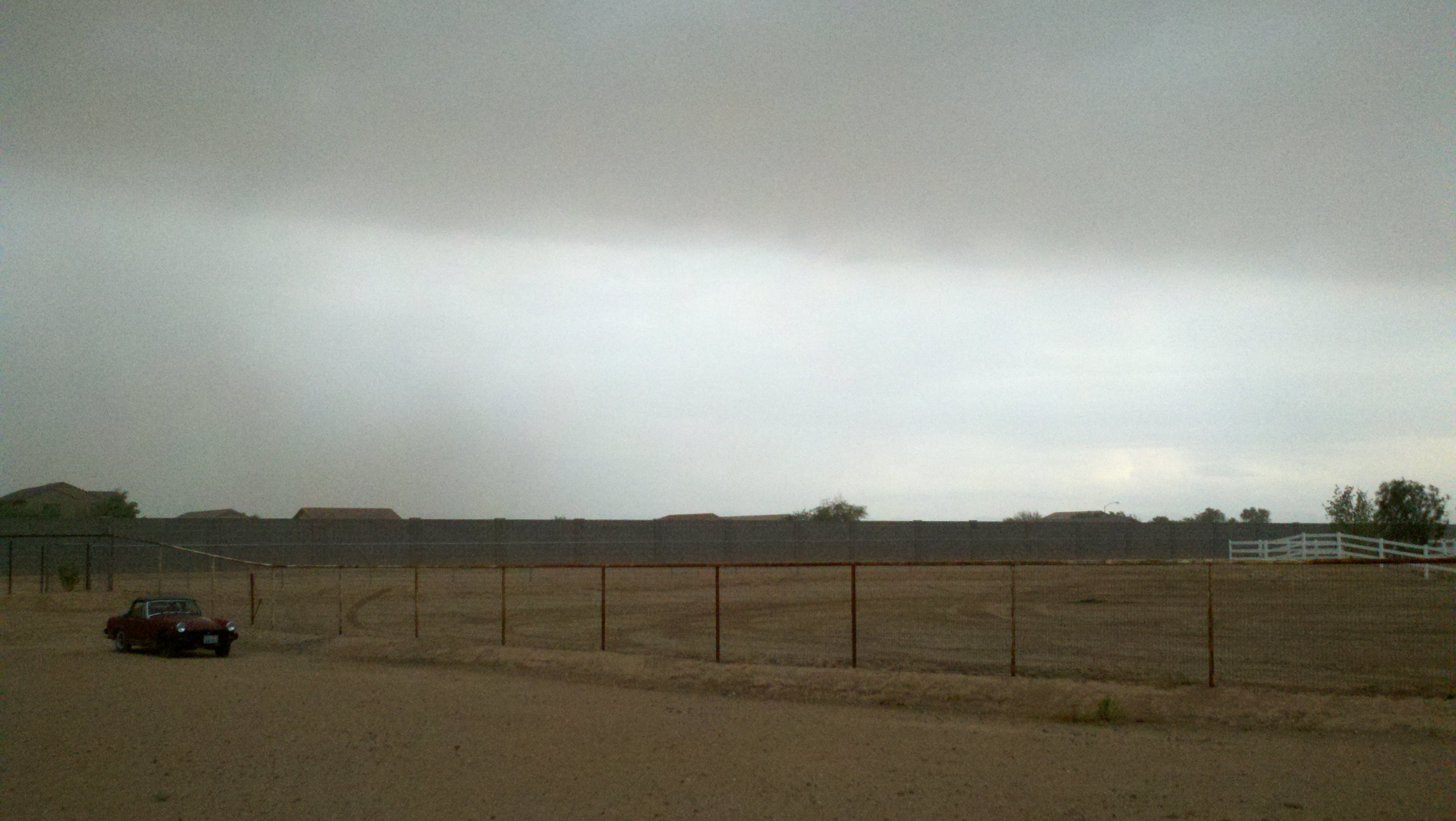 Pinal County dust storm/Sean Gates, cbs5az.com