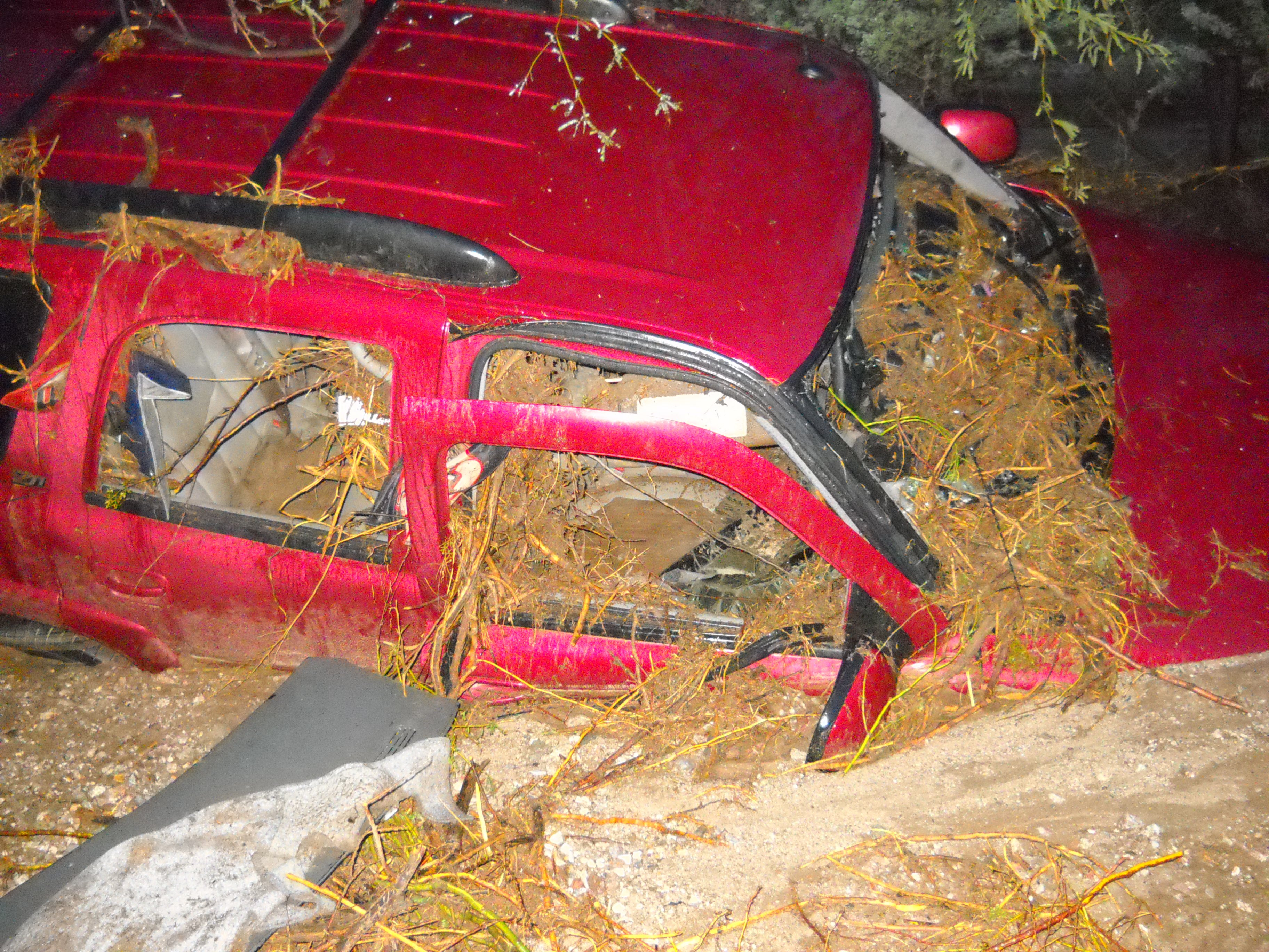 Motorist killed, swept away by flood waters