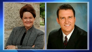 Rep. Brenda Barton, R-Payson, and Sen. Richard Crandall, R-Mesa