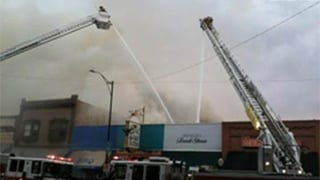  Whiskey Row fire 5/8/12