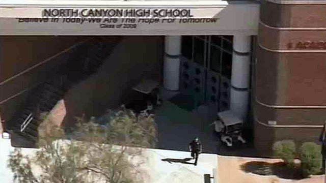 Phoenix police were forced to use a stun gun to disarm a 16-year-old knife-wielding student at a Phoenix high school Thursday morning.