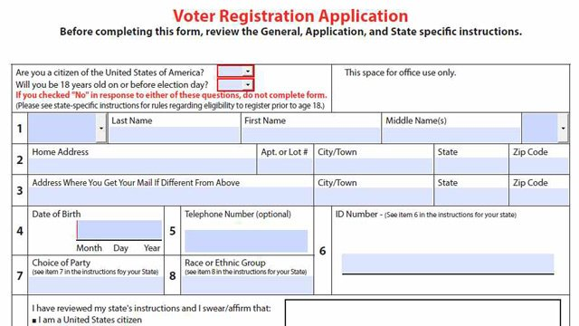 AZ ordered to accept federal registration forms - WECT TV6-WECT ...
