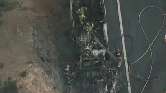 Images from CBS 5 News helicopter