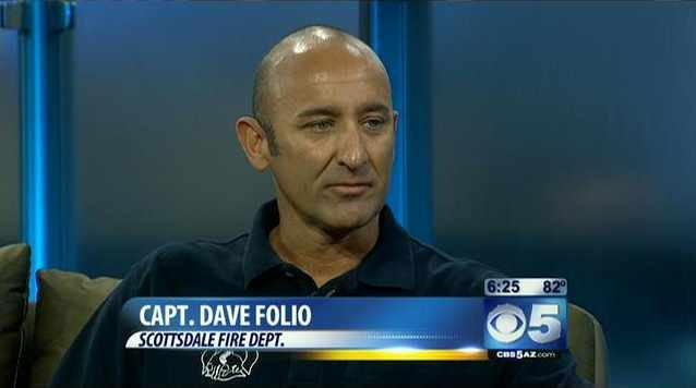 Scottsdale Fire Capt. Dave Folio