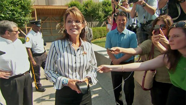 Sarah Palin will be in Gilbert on Monday afternoon to campaign for Kirk Adams.
