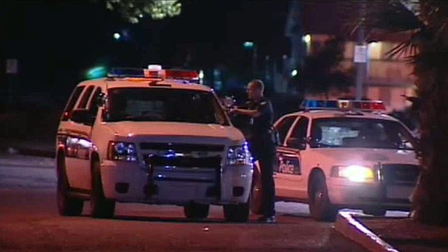 Phoenix police say a man and a juvenile are suspected in a series of armed robberies Monday night.