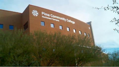 Enrollment at Pima Community College has declined by 11 percent from a year ago.