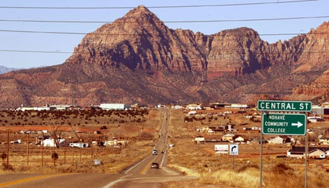 Attorneys defending a polygamous town on the Utah-Arizona border against allegations of civil rights violations want a change of venue.
