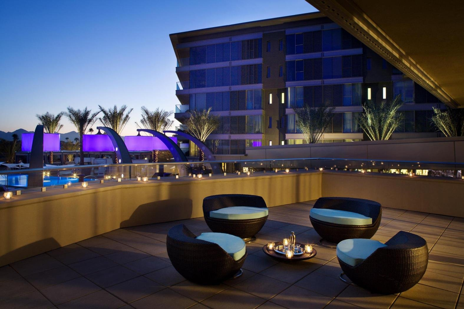 W scottsdale makes list of trendiest hotels in the u s for Trendiest hotels in chicago