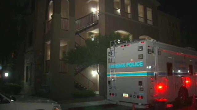 Investigators said a man and woman were found dead in a condominium near 68th Street and Chauncey Lane, just south of the Loop 101 in north Phoenix.