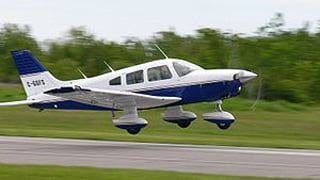 A Piper PA28 similar to this plane was reported missing after taking off from Mesa's Falcon Field on Thursday afternoon.