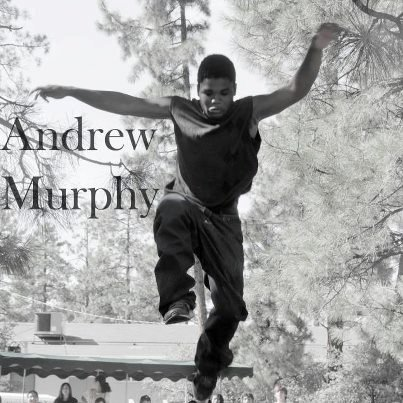 © One of Andrew's friends sent us these photos of him, saying Andrew loved Parkour (freerunning/freejumping).