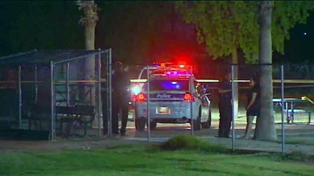 A 16-year-old boy witnesses said tried to prevent an armed robbery was shot and killed by the suspect at a Phoenix park Thursday night, according to Phoenix police.
