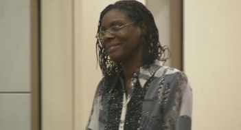 Jerice Hunter in court on Monday, Sept. 17