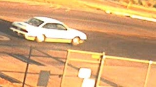 Surveillance equipment captures suspect vehicle