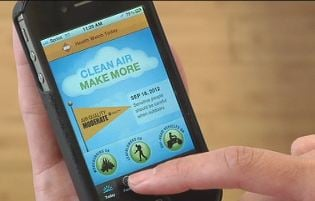 """Clean Air Make More"" app is free!"