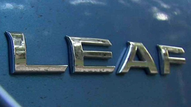 Nissan's Leaf is supposed to be an eco-friendly car.
