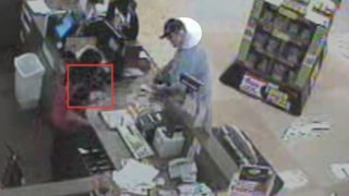 Man robs Fry's store at 7455 W. Cactus Rd.