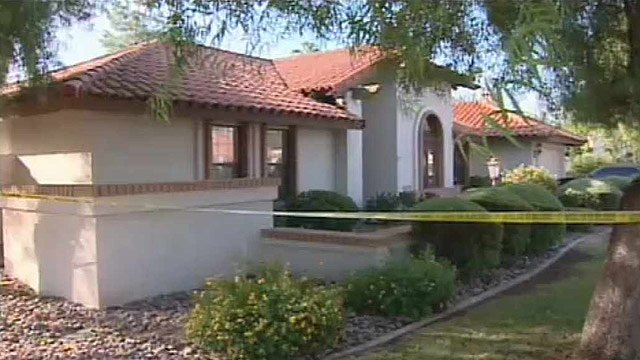 Traynor and the suspect fought inside the house 8519 E. San Lorenzo Dr. in Scottsdale.