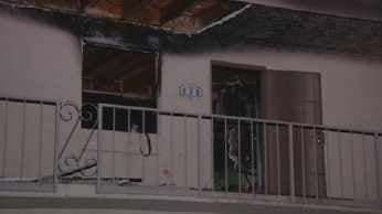 The fire happened Friday morning at N. 68st.