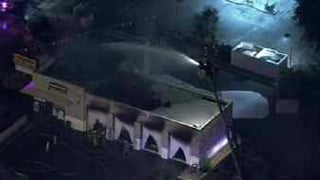 Meineke Car Care Center in Mesa goes up in flames