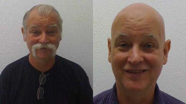Two previous mug shots of Thomas Elkins (Source: US Marshals Service)