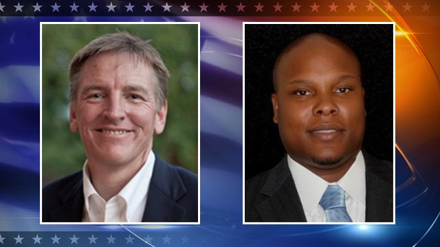 Republican Paul Gosar, Democrat Johnnie Robinson