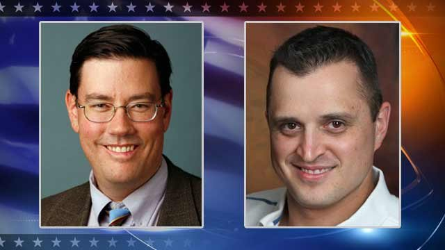 Democrat Steve Farley, Republican Tyler Mott