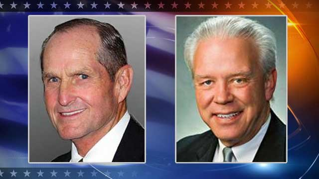 Republican Chester Crandell, Democrat Tom Chabin