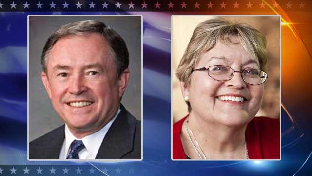 Republican John McComish, Democrat Janie Hydrick
