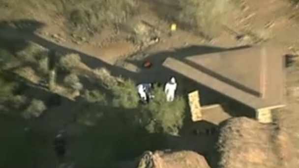 © CBS 5 News helicopter