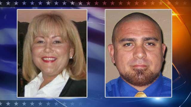 Democrat Barbara McGuire, Republican Joe Ortiz