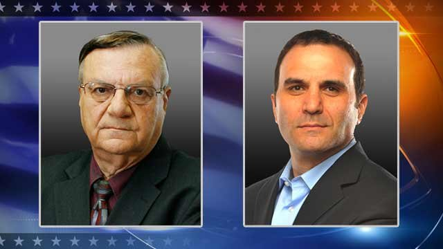 Republican Sheriff Joe Arpaio and Democrat Paul Penzone