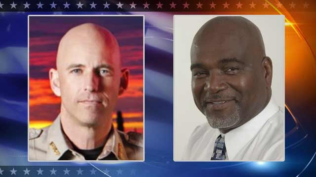 Republican Sheriff Paul Babeu and Democrat Kevin Taylor
