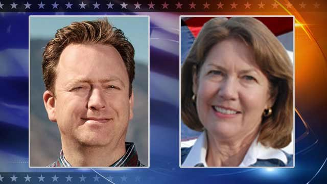 Republican Jonathan Paton and Democrat Ann Kirkpatrick