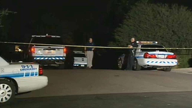 (Source: CBS 5 News) Police said the shooting deaths of two people in a Scottsdale home Wednesday morning appear to be the result of a domestic violence incident.
