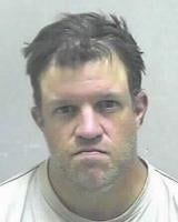 Eric Tuttle's mug shot when he was arrested in Ohio County.