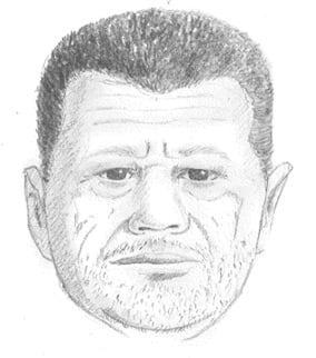 (Source: Tempe Police Department) Tempe police released this sketch of a man suspected of trying to rape an ASU student Wednesday.
