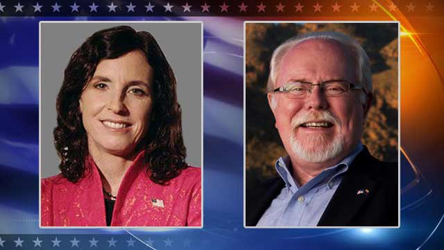 (Source: CBS 5 News) Democrat Ron Barber, right, pulled ahead of Republican Martha McSally by more than 300 votes out of more than 250,000 cast in the 2nd Congressional District race.