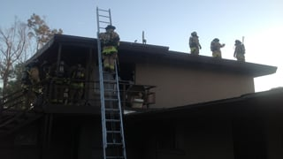 Firefighters attack blaze near Stapley and University in Mesa.