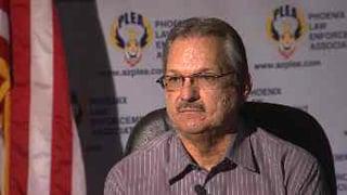 Phoenix Law Enforcement Association President Joe Clure